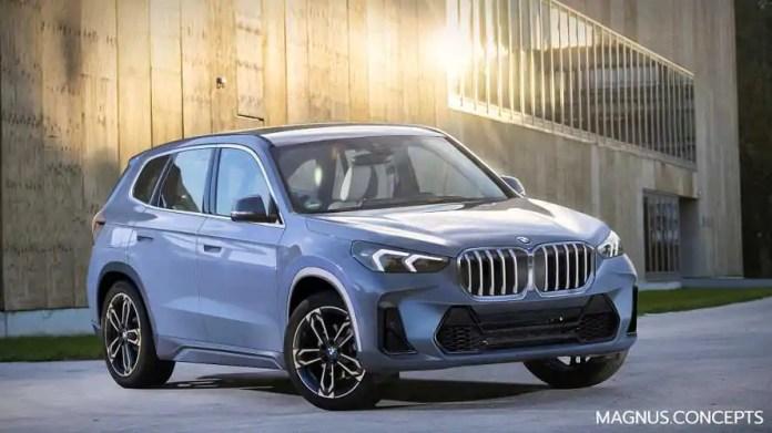 Nuova BMW X1 2022, il nuovo Rendering senza veli