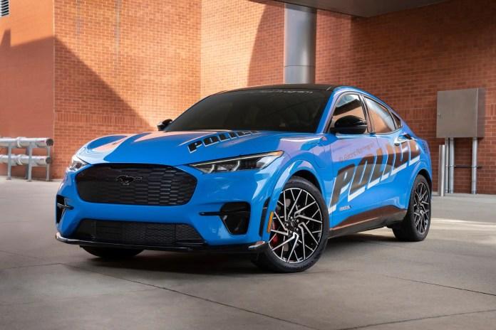 Nuova Ford Mustang Mach-e entra nella Polizia americana