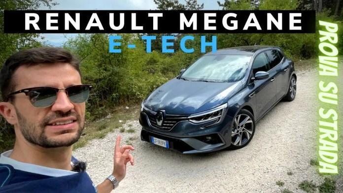 Renault Megane E-Tech Plug-in 160 CV RS Line | Prova su Strada [VIDEO]