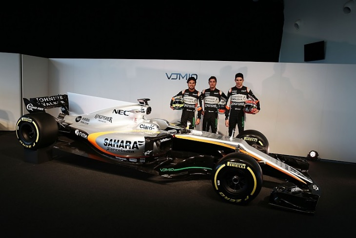 Lançamento da Force India F1 - foto by Auto Racing