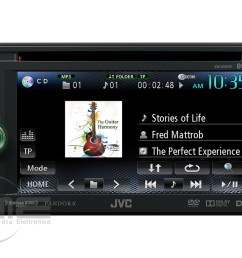 jvc kw av61bt autoradio 2din 6 2 estraibile touchscreen dvd usb ipod bluetooth [ 1024 x 768 Pixel ]