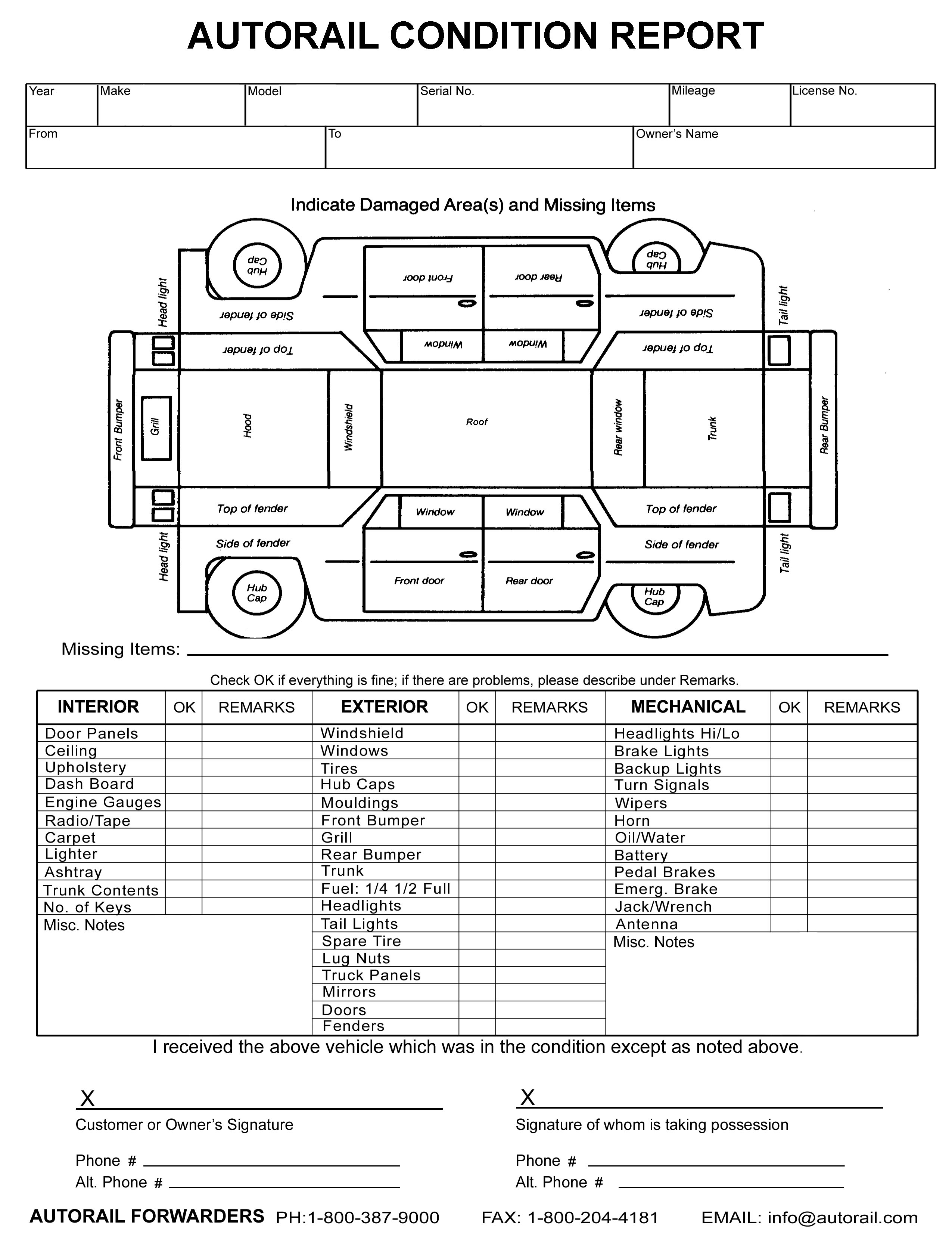 commuter van damage inspection diagram hornby dcc decoder wiring vehicle sheet pictures to pin on pinterest pinsdaddy