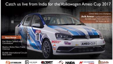 Auto Rebellion Volkswagen Ameo Cup India Avik Anwar Bangladesh
