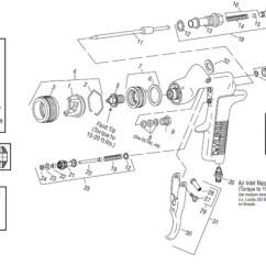 Devilbiss Spray Gun Parts Diagram Rickenbacker 4003 Wiring Gti Gravity Feed Millenium