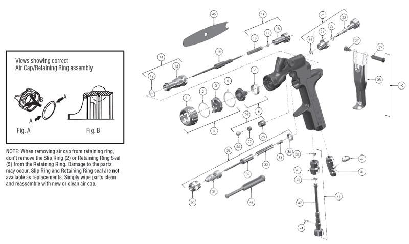 devilbiss spray gun parts diagram grand cherokee wiring sripro spot repair paint cvi view