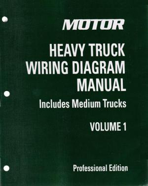 2009  2013 MOTOR Medium & Heavy Truck Wiring Diagram