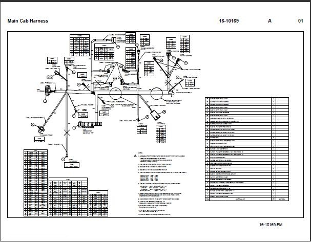 99 Sterling Wiring Diagram freightliner fld120 fuse box