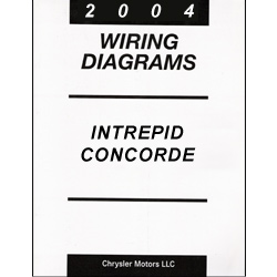 2004 Dodge Intrepid, Chrysler Concorde, 300M (LH) Wiring