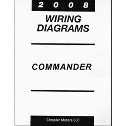 2008 Jeep Commander (XK) Wiring Manual