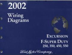 2002 Ford Excursion, F250, F350, F450, F550 & FSuper Duty
