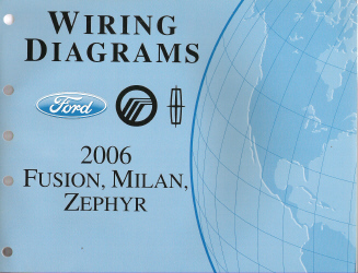 all vehicle wiring diagrams diagram for usb plug 2006 ford fusion, mercury milan & lincoln zephyr -