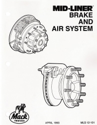 Mack Truck Mid-Liner Brake and Air System Service Manual