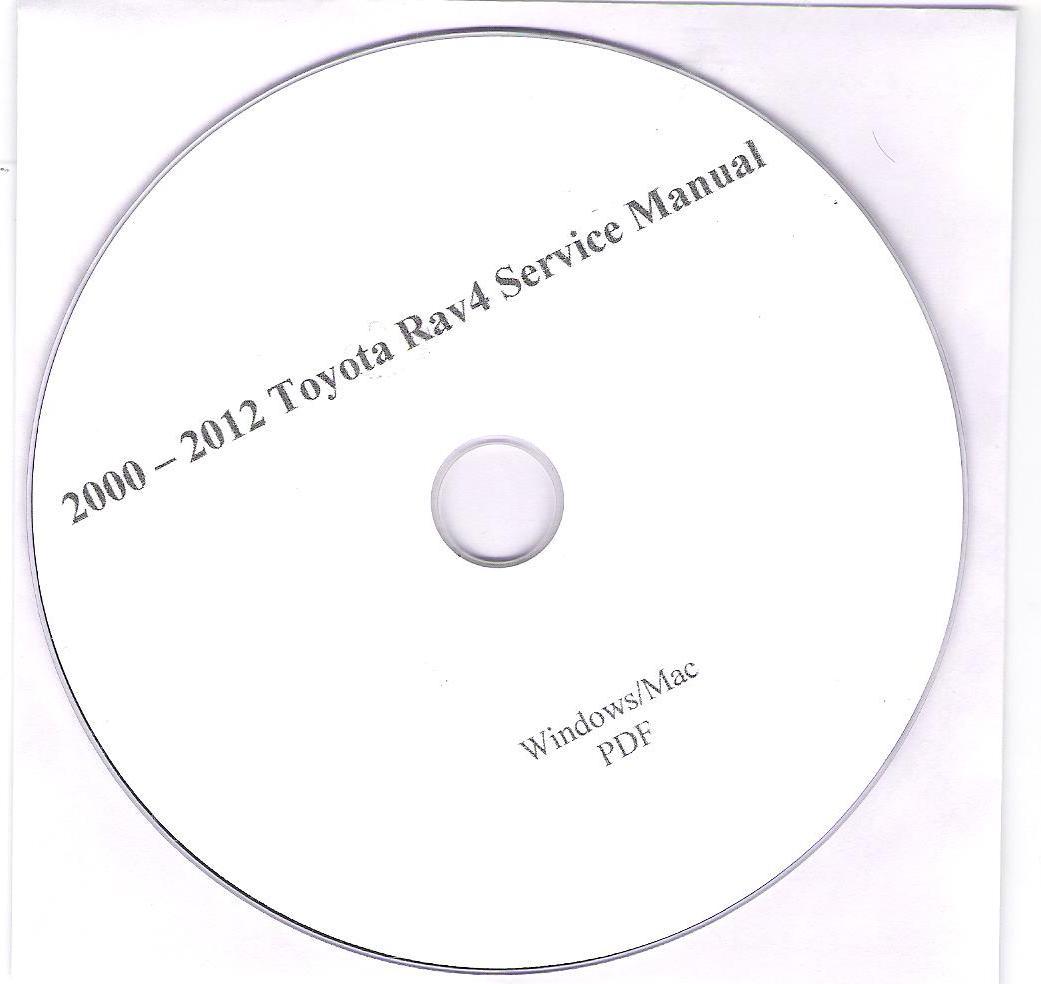 2000-2012 Toyota Rav4 Service Manual factory PDF