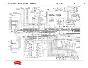 Peterbilt 348 Conventional Models Basic 12 Volt Wiring
