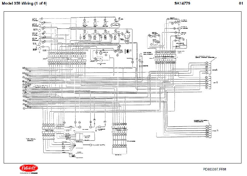 Diesel DDEC II Engine Electrical Wiring Diagrams
