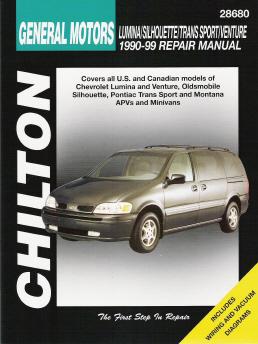 1990  1999 Chevrolet Lumina & Venture, Olds Silhouette, Pontiac Trans Sport & Montana (APV's