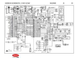 Caterpillar ADEM III (C10, C12, 3406E Engines) Complete
