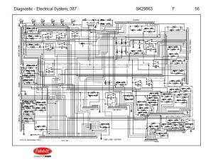 After Oct 14, 2001 5 Peterbilt 387 Complete Wiring Diagram