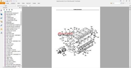 small resolution of kubotum b2100 part diagram