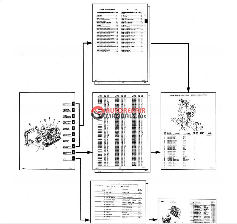 Takeuchi Wiring Diagram