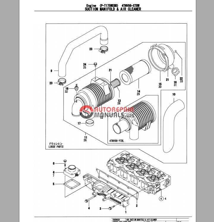Takeuchi Tb175 Operators Manual Pdf Download