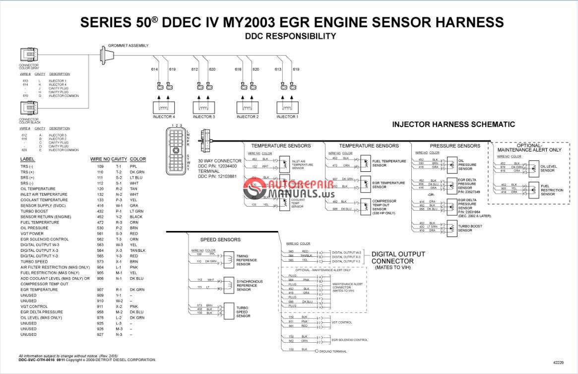 series 53 detroit diesel engine wiring