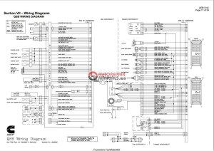 Cummins QSB, QSC, QSM11 Wiring Diagram   Auto Repair