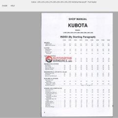 Kubota Generator Wiring Diagram Triumph Tr6 L305 Circuit Maker