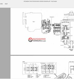 mitsubishi tractor bd2g bs3g wiring diagram auto repair mitsubishi tractor parts diagram mitsubishi compact tractor 4x4 [ 1600 x 833 Pixel ]