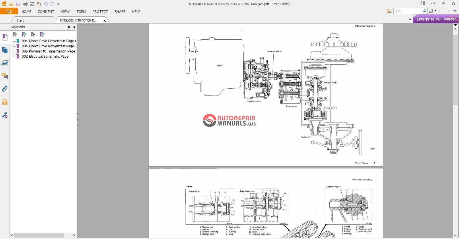 hight resolution of mitsubishi tractor bd2g bs3g wiring diagram auto repair mitsubishi tractor parts diagram mitsubishi compact tractor 4x4