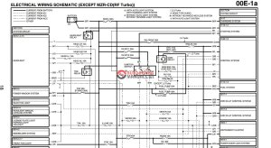 Mazda 6 (GG) (20022007) Wiring diagrams | Auto Repair