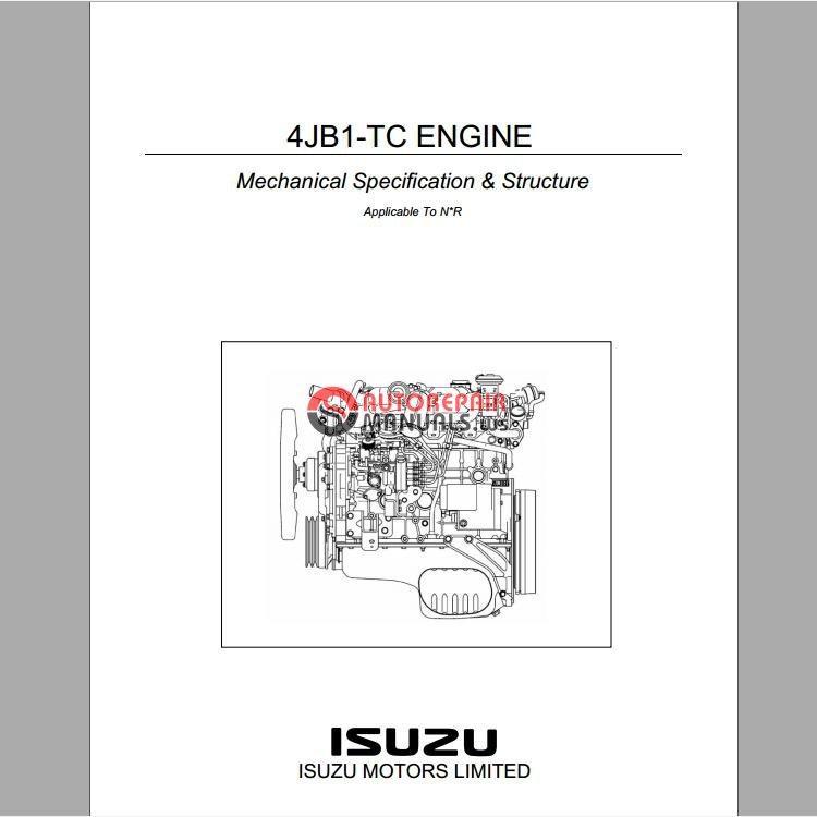 engine control system 4hk1 model workshop manual auto repair manual