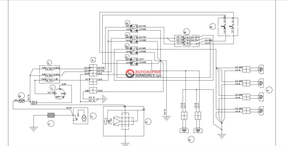medium resolution of case ih model tractors jx60 jx70 jx80 jx90 jx95 service 284 diesel tractor wiring diagram 574 international tractor wiring diagram