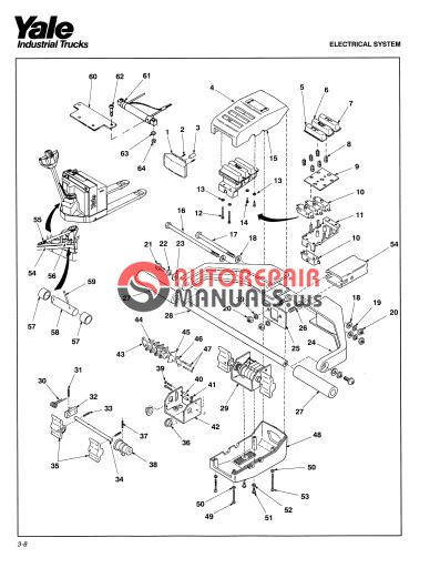 Yale Electric For Model MPB 040AC (A827) Service