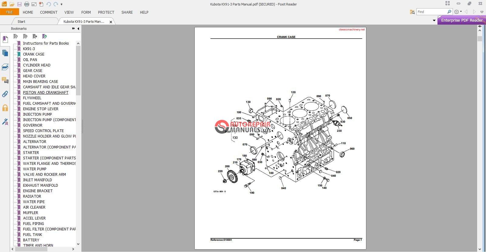 hight resolution of  kubota kx91 3 parts manual 2 jpg