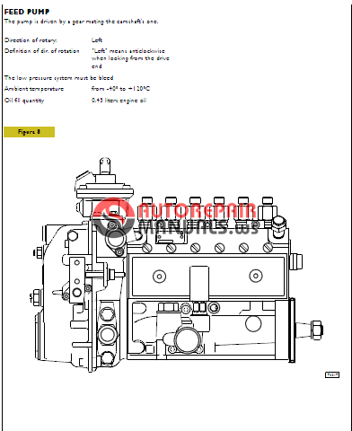 Iveco NEF ENGINES mehanical injection TECHNICAL & REPAIR