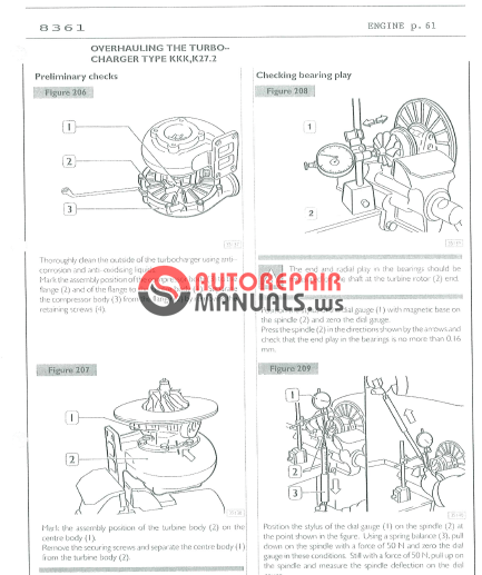 Iveco INDUSTRIAL ENGINES SERIES 8361 WORKSHOP MANUAL