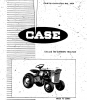 Case/Ingersoll Compact Tractor 130/180 (A954)Parts Catalog