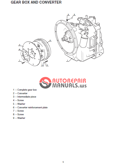 CT6-18 TURBO CT6-18 Telescopic Handler Service Manual