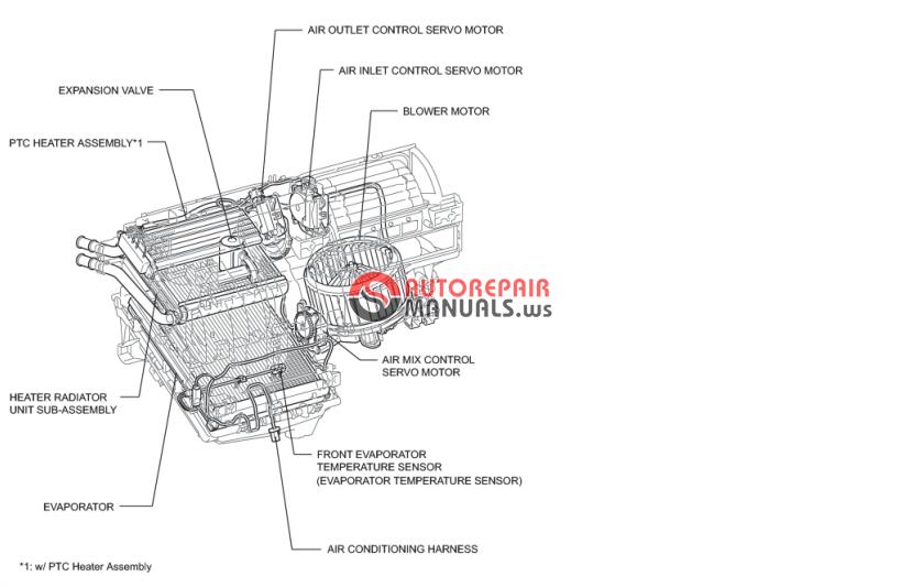 2002 Toyota Camry Wiring Diagram Toyota Prius 2010 Repair Manuals Auto Repair Manual