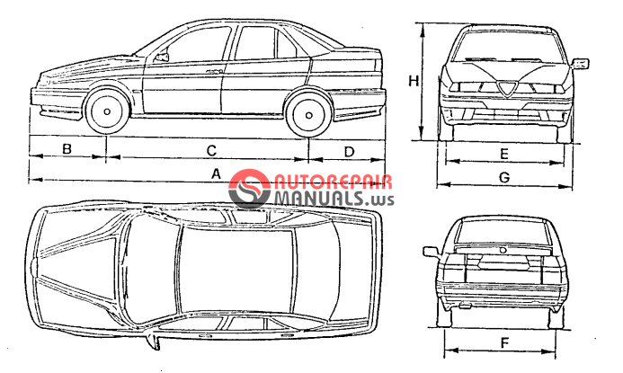 [Free download] Alfa Romeo 155 repair manuals (Vehicle