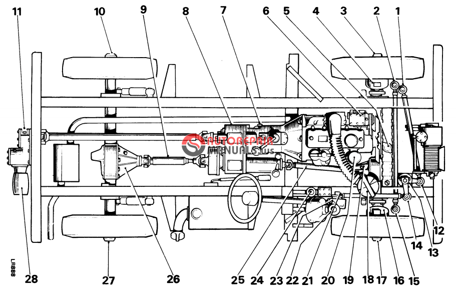 Discovery 1996 Land Sd Rover Engine Diagram
