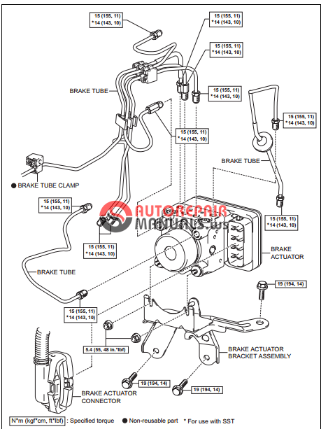 [Free download] Toyota Yaric Repair Manuals (Brake control