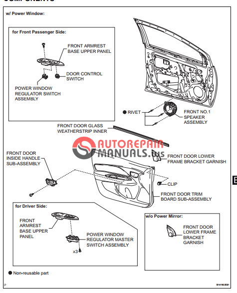 [Free download] Toyota Yaric Repair Manuals (Engine hood