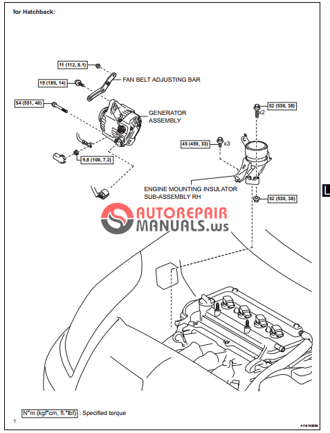 [Free download] Toyota Yaric Repair Manuals (Lubrication