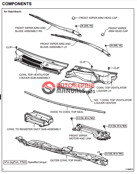 [Free download] Toyota Yaric Repair Manuals (U340