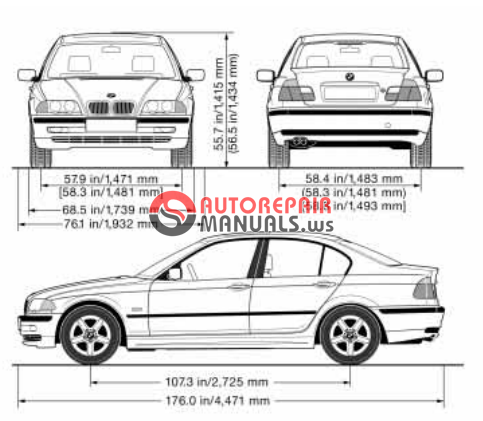 [Free download]2001 BMW 325i / 330i Owners Manual (Sedan