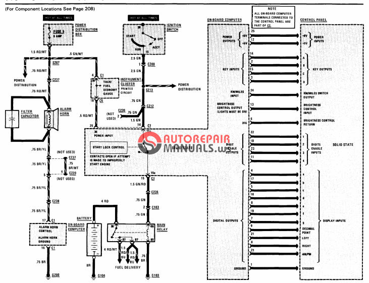 [Free download] 1992 BMW 525i,525it,535i,M5 Electrical