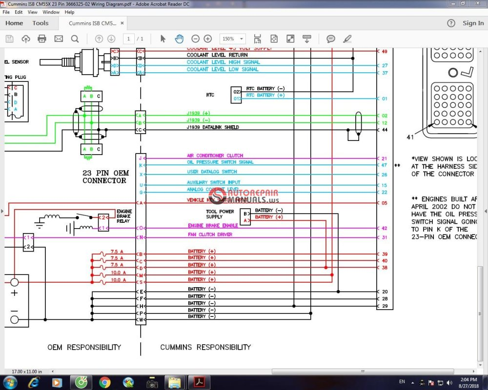 medium resolution of isb 50 pin wiring diagram everything wiring diagram cummins isb ecm wiring diagram isb 23 pin