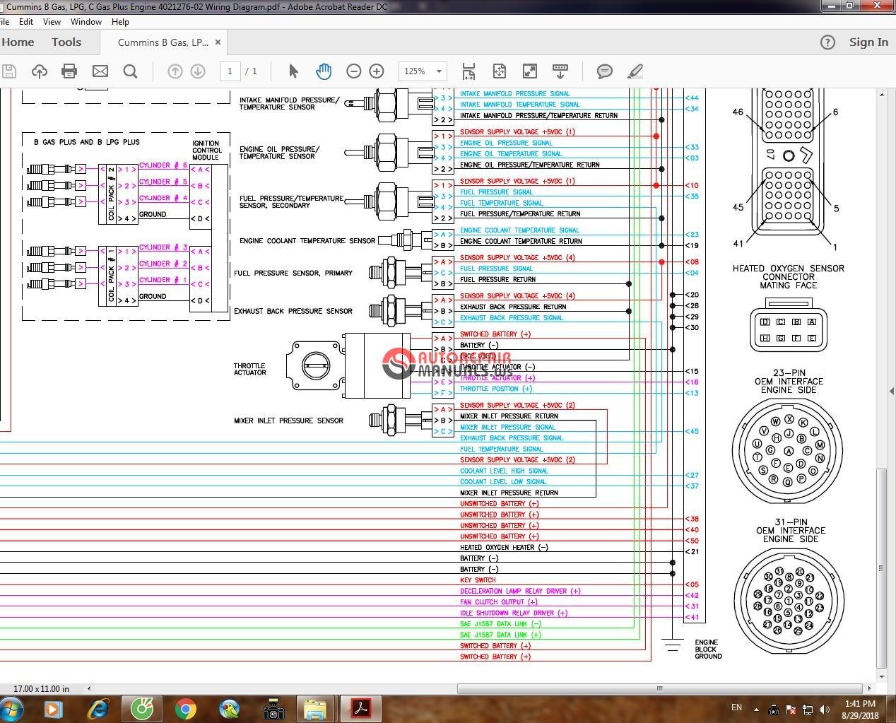 hight resolution of  cummins b gas lpg c gas plus engine 4021276 02 wiring diagram 4